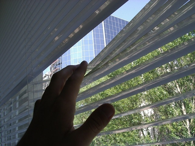 gap in your blinds